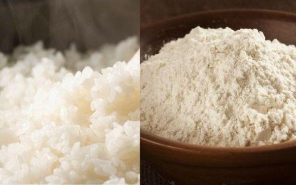 Cơm nếp hoặc gạo nếp có thể dùng để chữa bệnh đậu lào