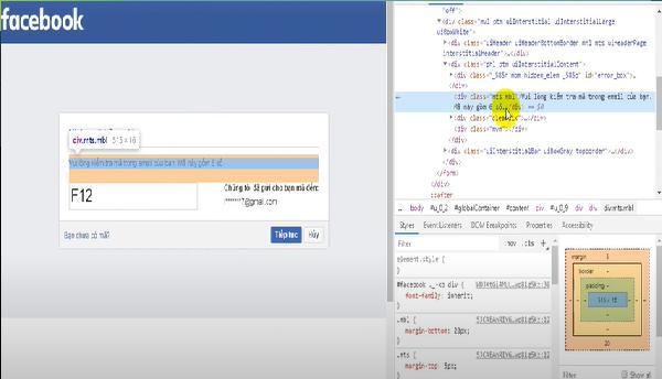 Đây chính là code hack Facebook