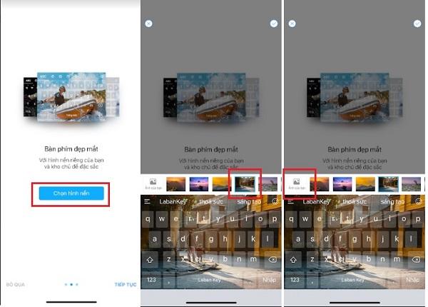 Tùy chọn hình ảnh có sẵn hoặc kho ảnh cá nhân của bạn