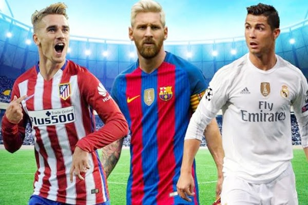 La Liga hấp dẫn nhờ sức hút của các ngôi sao lớn như Messi hay Ronaldo